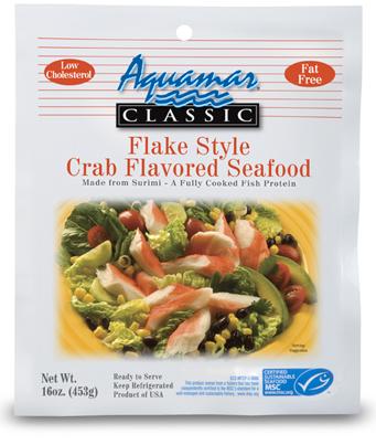 Aquamar Classic 16oz Crab Flake Package