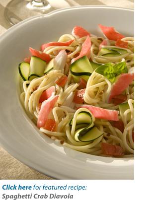 Spaghetti Crab Diavola Recipe
