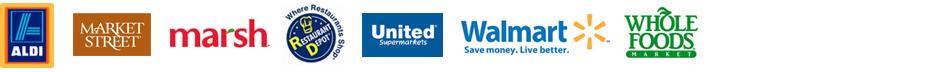 USA Retailers Logos